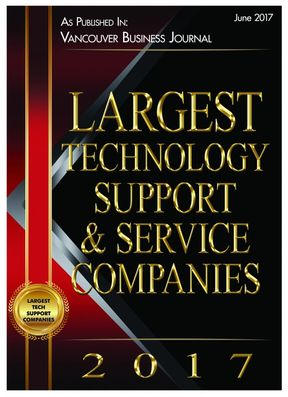 Centerlogic is the Largest Technology Support and Service Company of Vancouver, WA in 2017